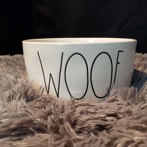 Rae Dunn Woof Pet Bowl
